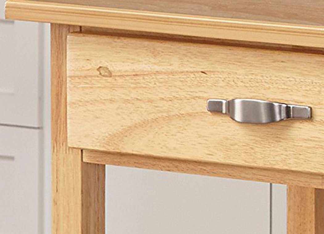 Home Styles Solid Wood Top Kitchen Cart, Natural Finish by Home Styles (Image #3)