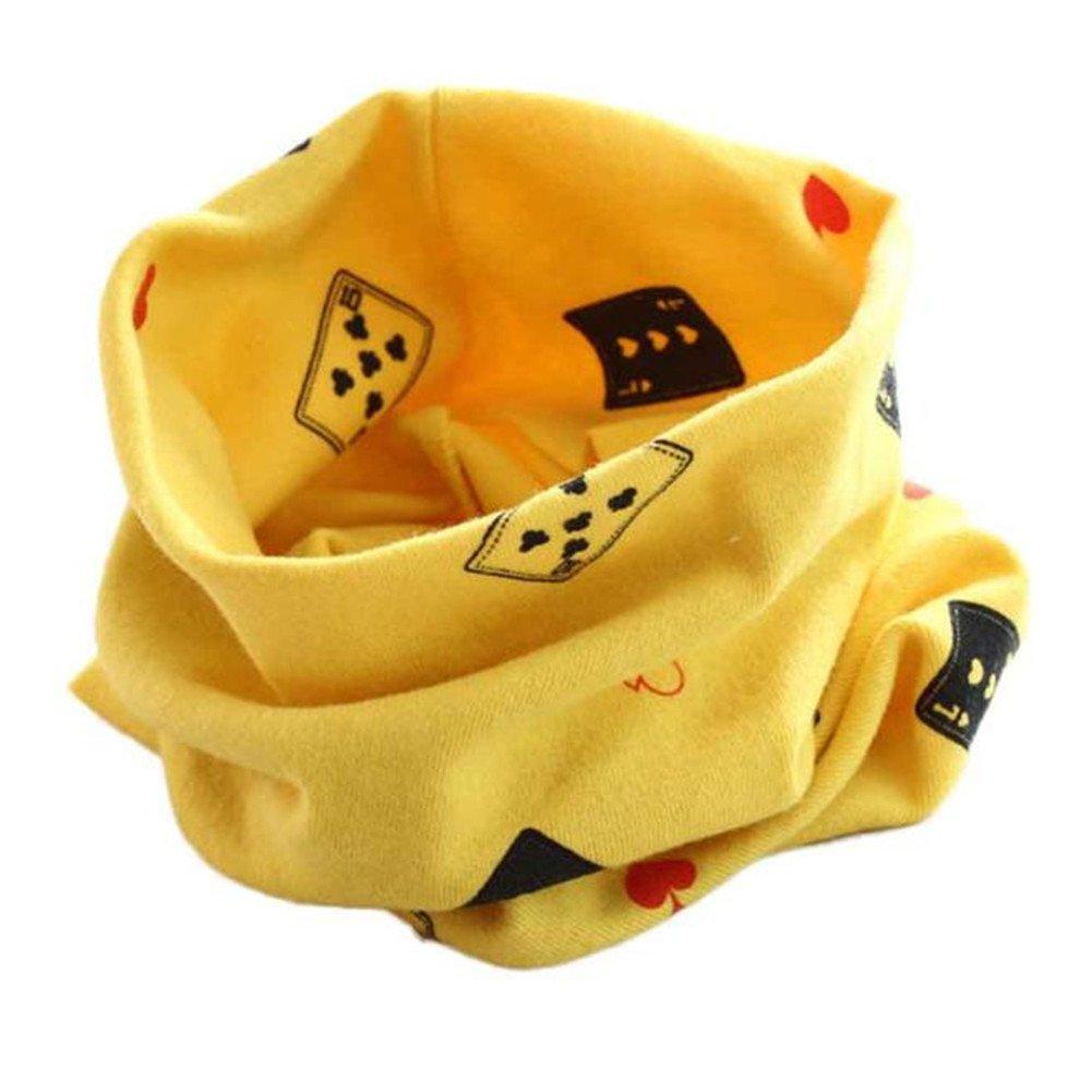 Bebé pañuelos de cuello, RETUROM Invierno caliente del otoño muchachas de los muchachos del bebé de la bufanda de cuello del algodón O del cuello del anillo de la cicatriz