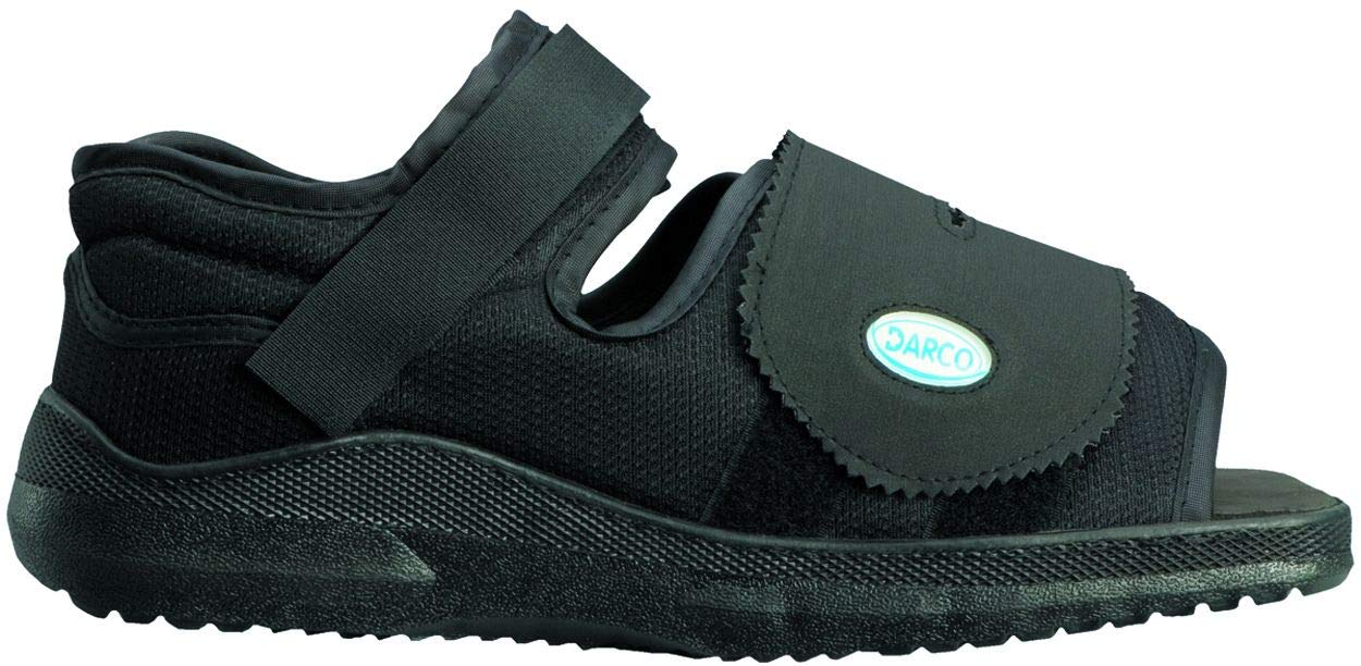 Darco Med-Surg Post Operative Shoe-Women Medium Black by Elite Orthopaedics