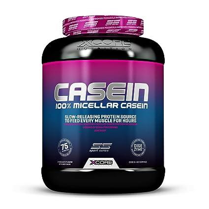 Xcore Nutrition Xtreme Casein, Galletas y Avena - 2000 gr