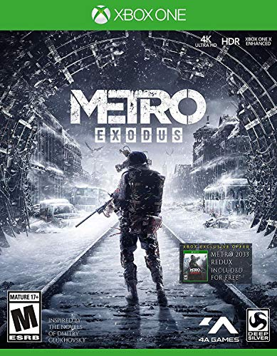 Metro Exodus: Day One Edition - Xbox One (Best Single Shooter Games)