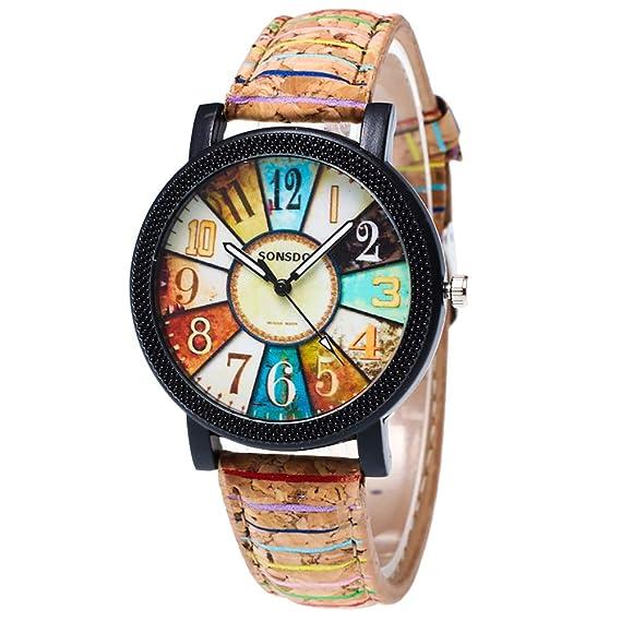 Schwarz GysadModische ArmbanduhrLederarmbandEinstellbarQuarzuhrwerkZeiger Damen In Weiß QoBCxerdW