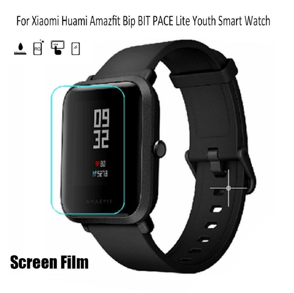 Amazon.com: SUKEQ For Xiaomi Amazfit Bip Screen Protector, 3 ...