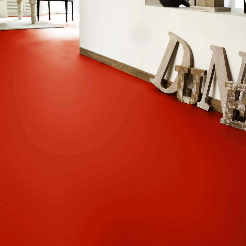 Tarkett Iconik 260D DJ Red PVC Bodenbelag 12,90 /€ p. m/² Breite: 200 cm x L/änge: 300 cm