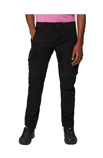 C.P. Company AI19 - Pantalón de chándal (satén), Color Negro Negro ...