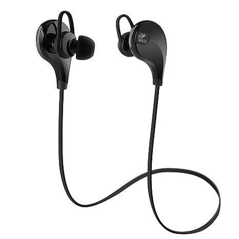 SoundPEATS Qy7 Auriculares Inalámbricos en Estéreo con Bluetooth 4.0 para iPhone, iPad, iPod,