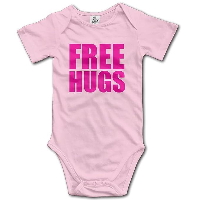 Unisex Free Hugs bebé Pelele bebé mono corto slev: Amazon.es: Ropa y accesorios