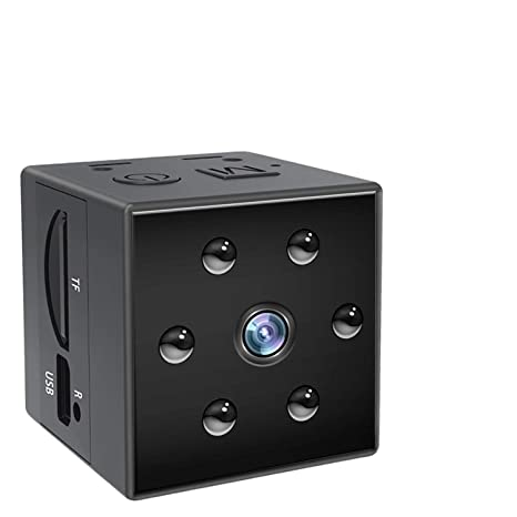 Mini Hidden Spy Camera - HD Nanny Cam With Night Vision&Motion Detection-Secret Safe,