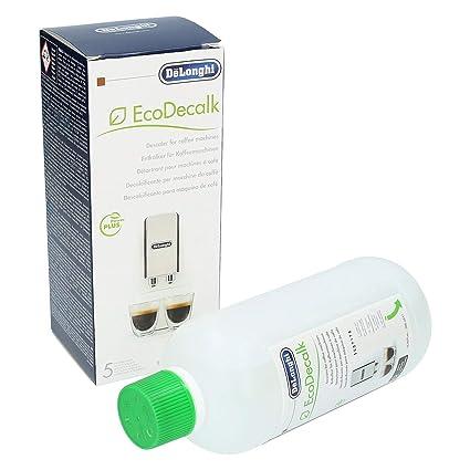 Delonghi Ecodecalk - Líquido descalcificador universal, cafeteras superautomáticas, 500 ml, ecológico y eficiente, compatible cafeteras modelos ECAM ...