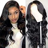 Body Wave Lace Front Wigs Human Hair for Black Women, 13x4 Brazilian Virgin Human Hair Lace Frontal Wigs, 150% Density Body W