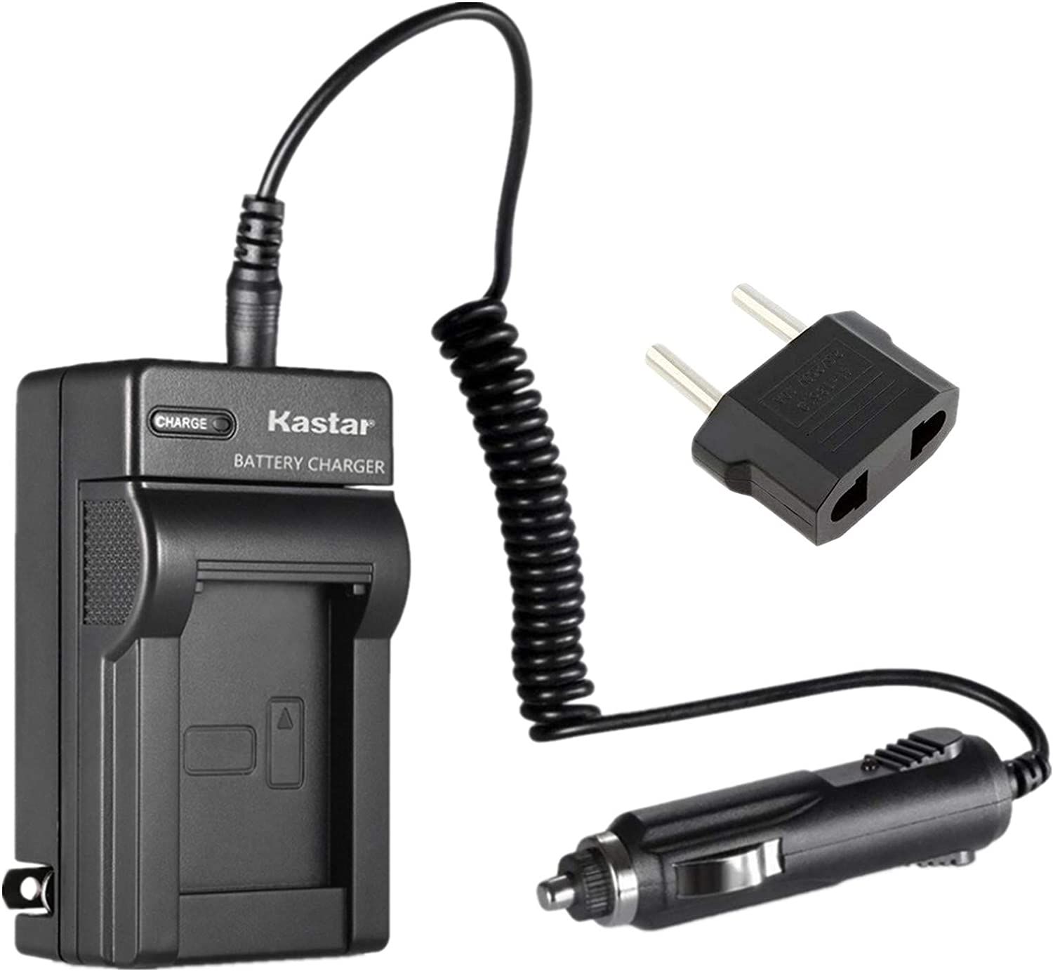VW-VBN260 Travel Battery Charger for Panasonic VW-VBN130 replaces VW-BC20EBK
