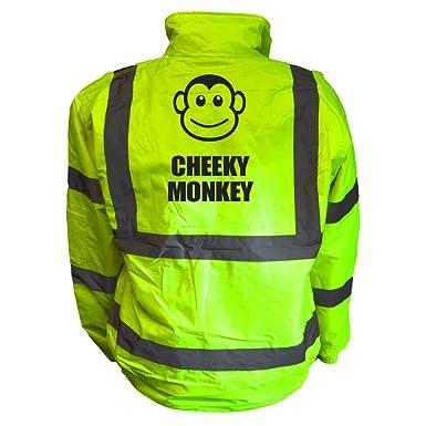 Childrens Hi Viz CHEEKY MONKEY child High Visibility Waistcoat vest Vis
