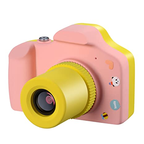 f63a4b89d5 Samoleus Macchina Fotografica per Bambini, Mini Fotocamera Digitale  Portatile, Digital Camera Kids Videocamera HD