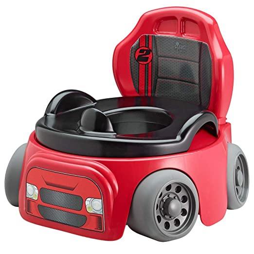 First Years Training Wheels Racer Potty System