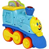 HAP-P-KID My First Talking Train Has A 6 Double Sided Educational Cards On Vehicles