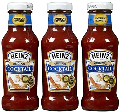 Heinz Seafood Cocktail Sauce, 12 oz, 3 pk