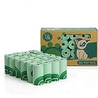 Green Maker - Bolsas de Basura para Perros, 360 Bolsas, biodegradables, Hechas de almidón de maíz