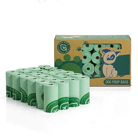 Green Maker Bolsas de Compost para Perros 30% más Grueso que ...