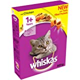 Whiskas 1 Cat Complete Dry With Chicken, 825 G