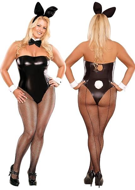 Plus size sexy bunny costume
