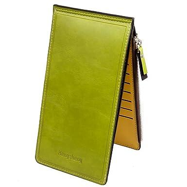 998ea6892202 Amazon.co.jp: カードケース 大容量 薄型 長財布 レディース メンズ 17 ...