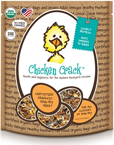Treats for Chickens Certified Organic  Crack Treat, 5-Pound (Chicken Treats)