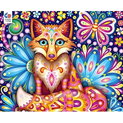 Groovy Animals - Fox Puzzle - 750 Pieces: Toys & Games