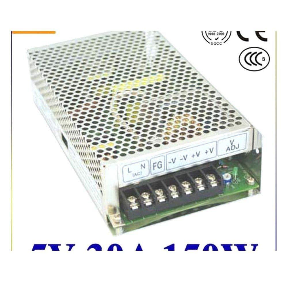 iProTool Single Output Switching Power Supply 5V 30A 100~120V//200~240V AC Input LED Power Supply 150W 5V Transformer