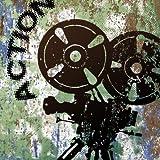 Movie Star Action II B Wall Art - 16'' x 16''