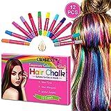 Best Hair Chalks - Hair Chalk, Hair Chalk Pens, 12 Color Temporary Review