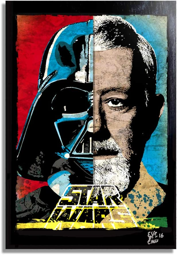 Star Wars original acrylic painting