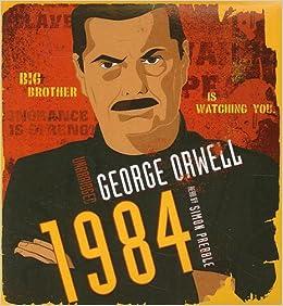 1984 George Orwell Simon Prebble 9781433202469 Amazoncom Books