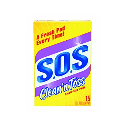Clean N Toss S O S Pads 15 Count