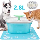 BAYKA Cat Water Fountain, 2.8L Automatic Pet