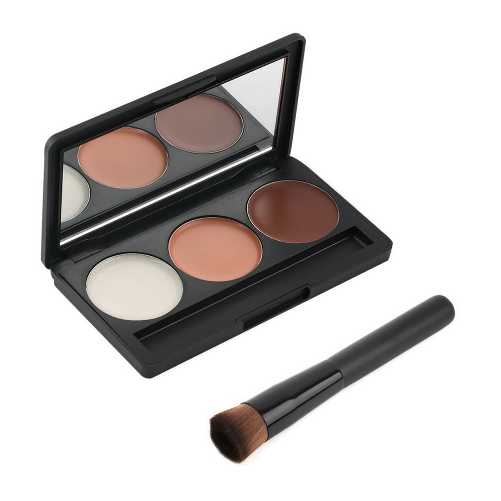 Maquillage - Palette de 3 couleurs pour le contournage | Contour/Blush/Highlight by RIVENBERT