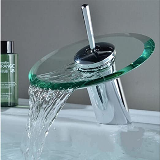 Kitchen Sink Bath Taps Cold Water Single Hole Faucets Chrome Finished Deck Mount