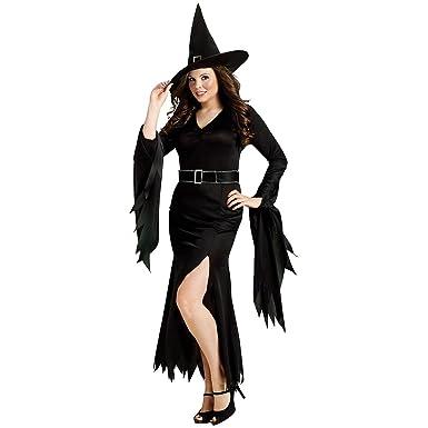 7723212329e Amazon.com  FunWorld Plus-Size Gothic Witch