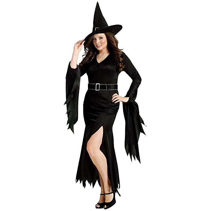 864ab8ea0ec FunWorld Plus-Size Gothic Witch Costume
