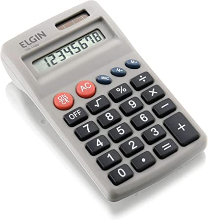 44ec1b80aed Calculadora de Bolso 8 Dígitos