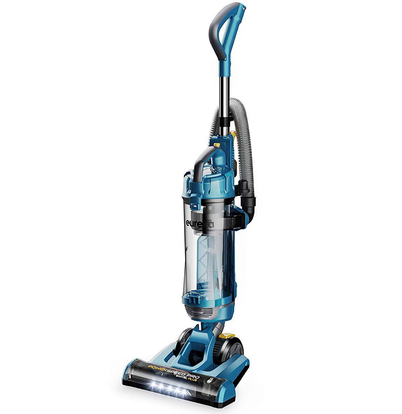 eureka NEU192A Swivel Plus Upright Vacuum Cleaner With Attachments, LED Blue by EUREKA