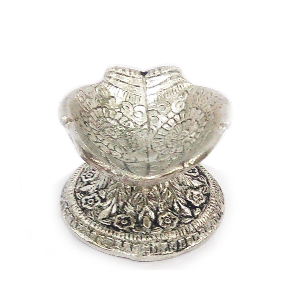 Oxidized Hand Shape Oil Lamp/Deepak Indian Handicrafts Export BB230