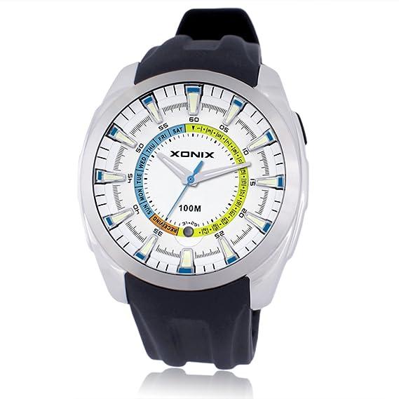 Ver la semana del calendario/Semiinteligentes relojes personalizados/reloj de cuarzo resistente al agua