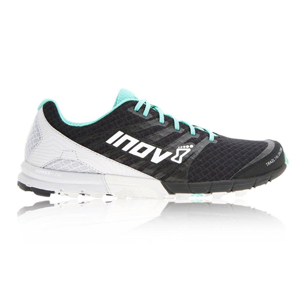 Inov-8 Womens Trailtalon 250 B01G7ZMVXA 7.5 W UK|Black/Teal/Light Grey