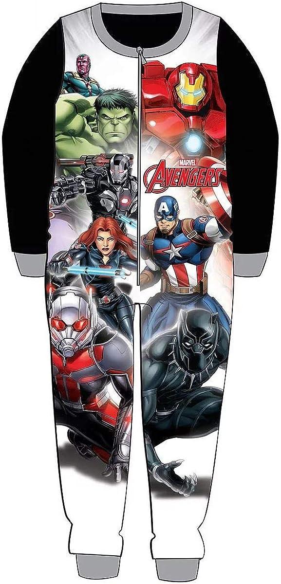Iron Man Captain America Hulk Black Widow Onesie Pyjama for Boys Marvel Avengers Onesie for Kids Children/'s Onesie Characters All in One Children PJ Jumpsuit Sleepwear Gift for Boys