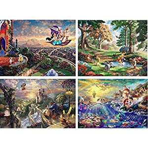 Puzzle Disney 4 In 1 Multi Pack Collection 3 3667 1