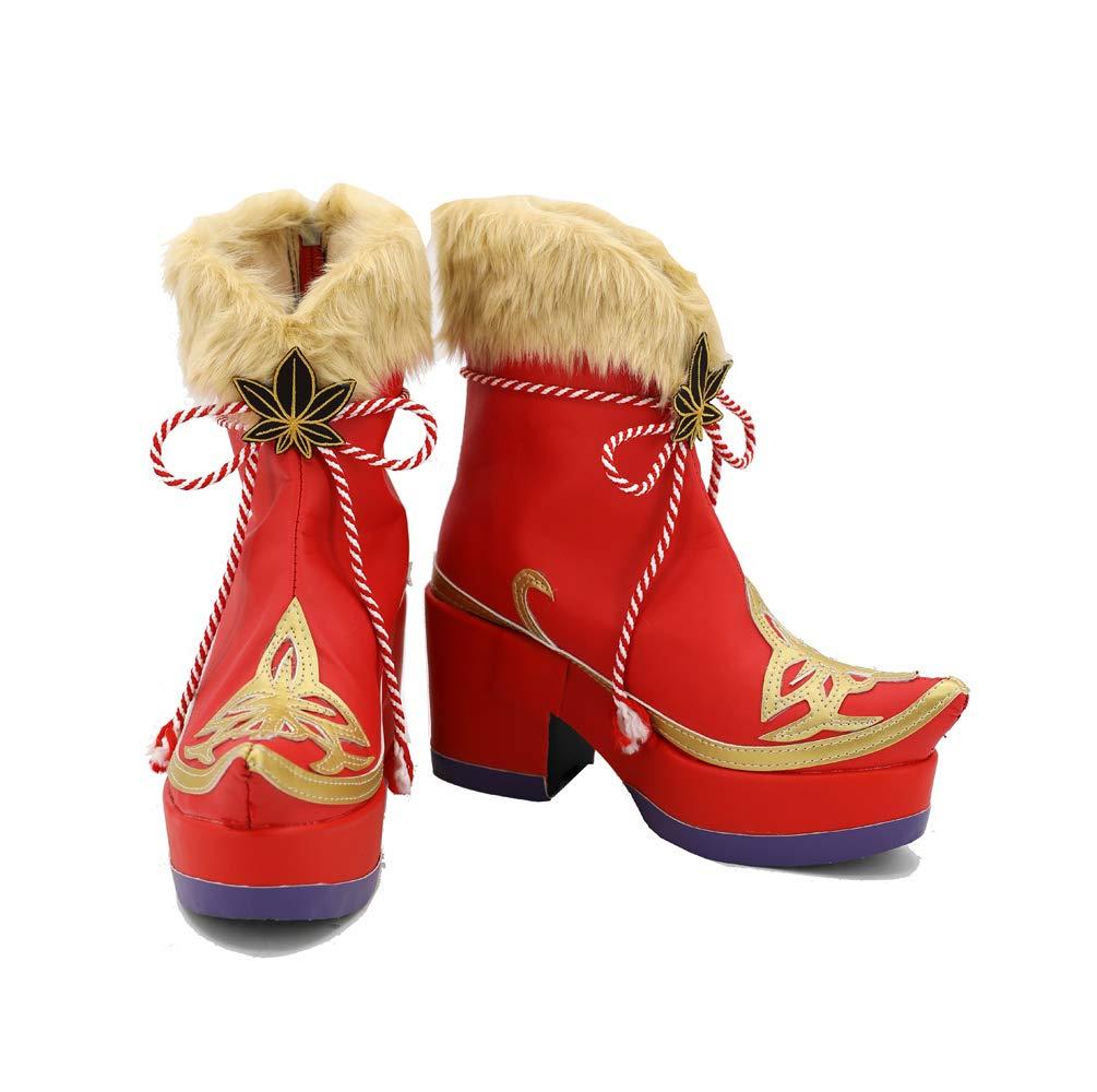 Karnestore Love Live ! Maple Leafs Leafs Leafs Cosplay Stiefel Schuhe Standardgröße und Maßanfertigung 9e0fd5