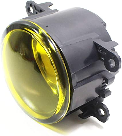 Yellow 2012-2014 Acura TL Fog Lights Front Driving Lamps w//Wiring Kit