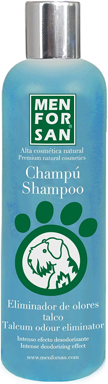 MENFORSAN Champú Perros Eliminador de olores Talco - 300 ml