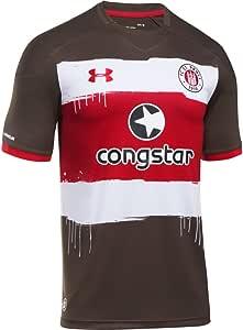 2017-2018 St Pauli Home Football Shirt: Amazon.es: Ropa y accesorios