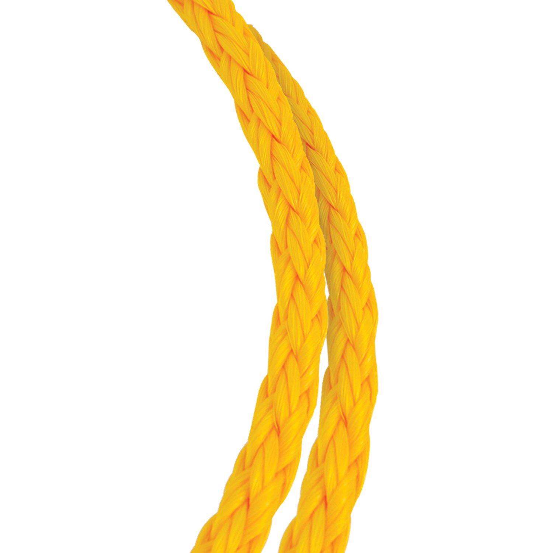 Koch Industries 5060811 Polypropylene Yellow 1//4-inch by 50-feet Hollow Braid